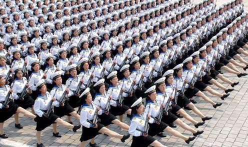 L'armée nord coréenne en image  20817910