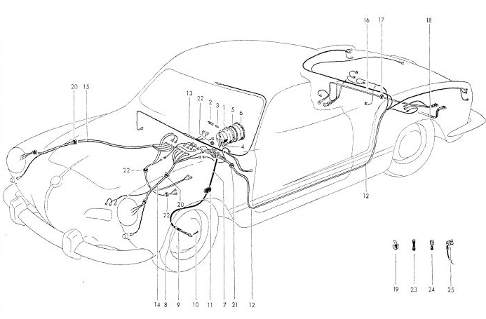 cab 70 : planches illustrées avec détail du faisceau elec ? Captur10