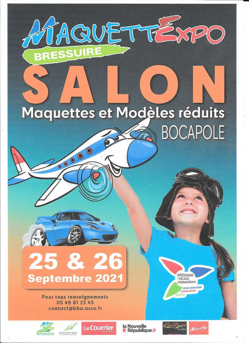 79300 BRESSUIRE salon MaquetteExpo 25 et 26 septembre 2021 _copie12