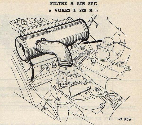 Recherche durite air carbu et cendrier Filtre10