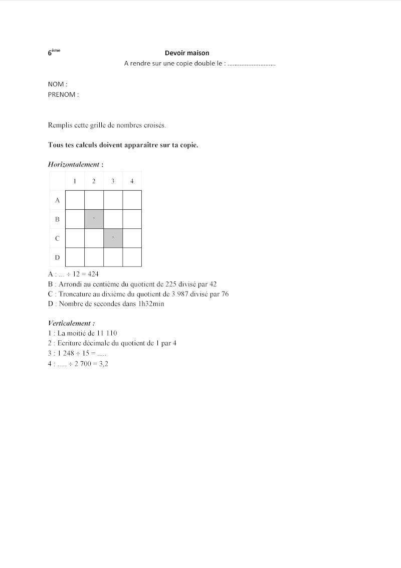 Difficulté de mon DM 6ème ? - Page 2 Nombre10
