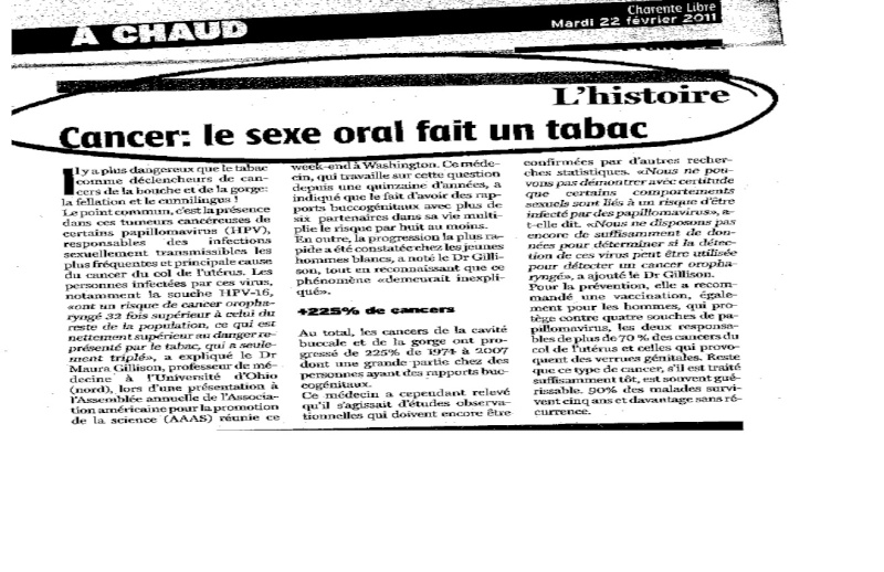 Reprenons le tabac  Cancer13
