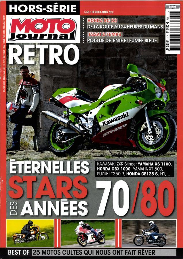 Hors serie moto journal retro M2184h10