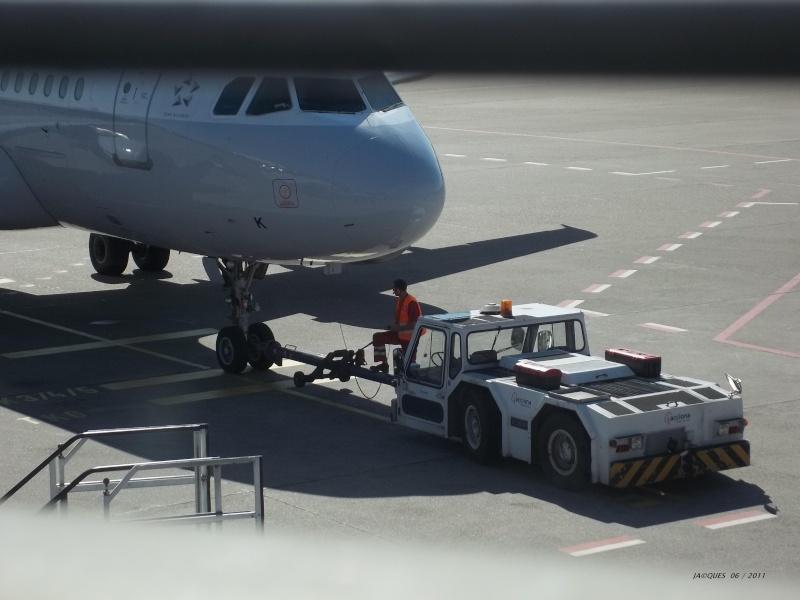 Engins d'aéroports Pousse12