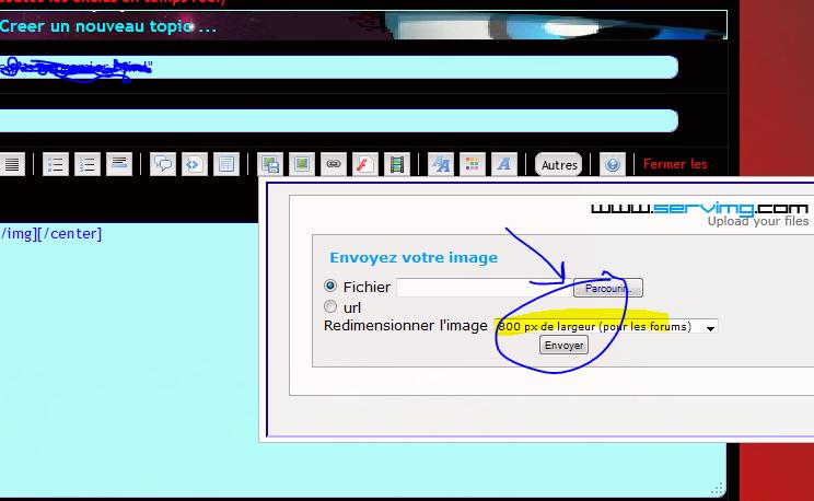 """Servimg : Modifier la taille de redimensionnement par default """"pour forum"""" Change10"""