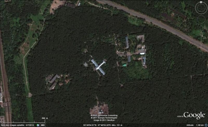 J'ai cru voir un avion à Moscou, Russie :) Avion210
