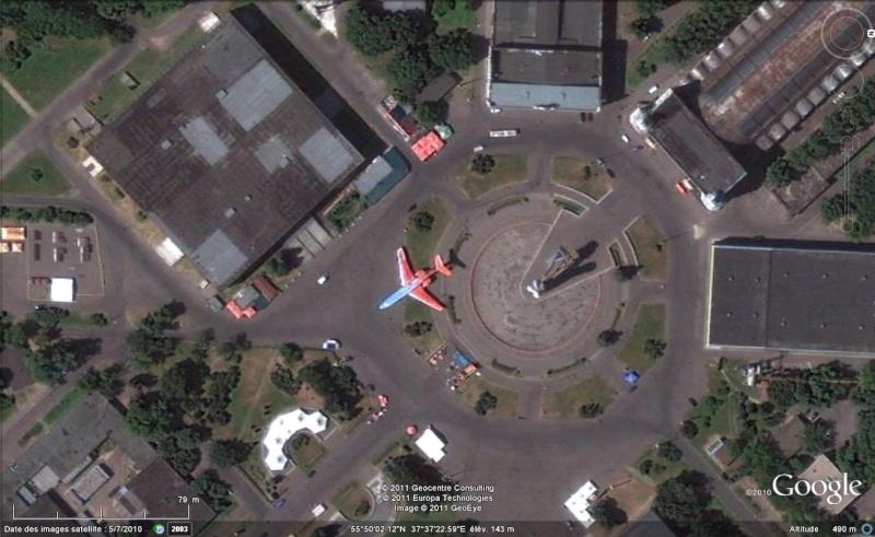 J'ai cru voir un avion à Moscou, Russie :) Avion211