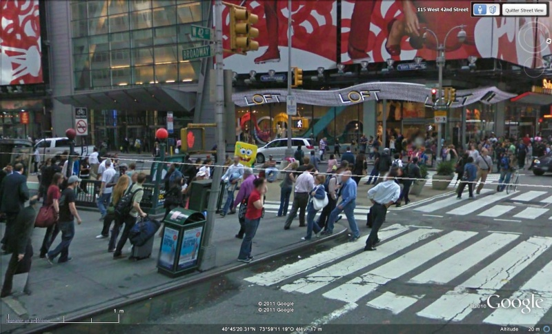 STREET VIEW : très classe la tenue vestimentaire new york usa Boblep11