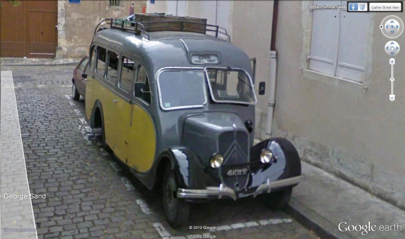 STREET VIEW : belles voitures (France) - Page 8 Citroe10