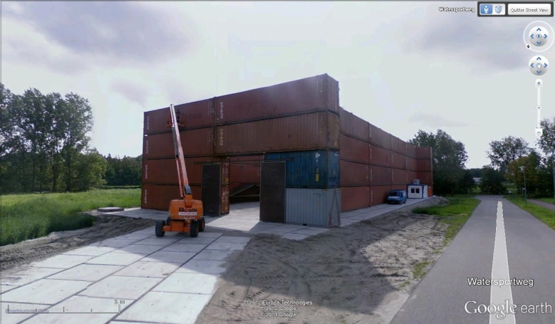 Un entrepôt en container à Polderpoort, Vlaardingen - Hollande Contai10
