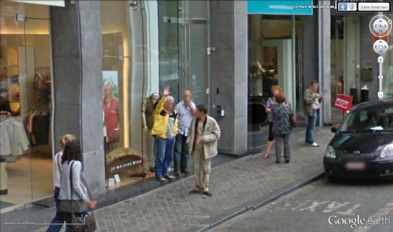 STREET VIEW : un coucou à la Google car  - Page 18 Coucou16