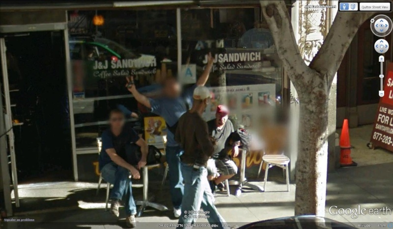 STREET VIEW : un coucou à la Google car  - Page 18 Coucou32