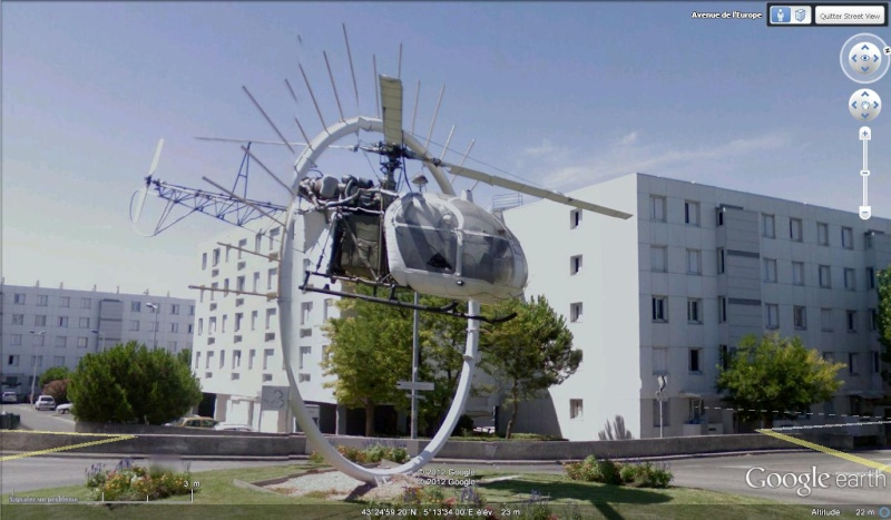 STREET VIEW : Hélicoptères Helico10