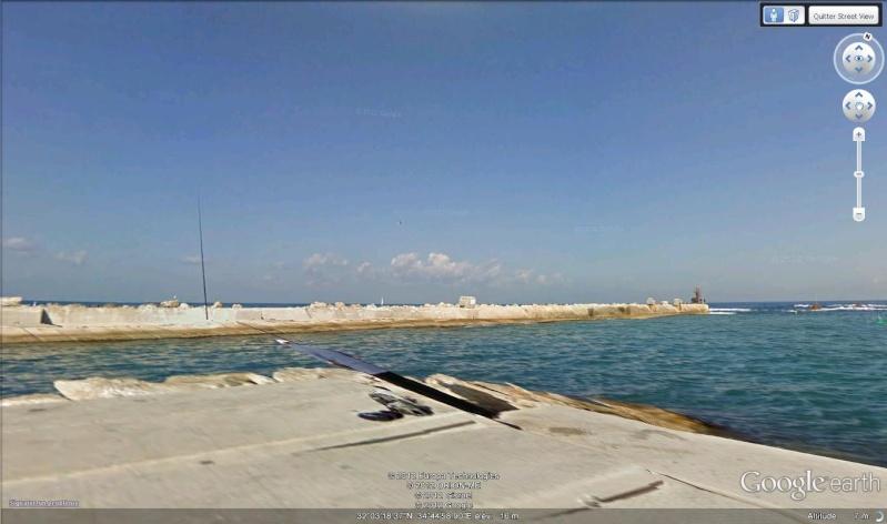 Street view : Où est le pêcheur ?? Tel-Aviv, Israël Pecheu10