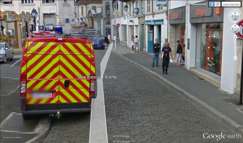 STREET VIEW : à la recherche des interventions de pompiers Pompie12