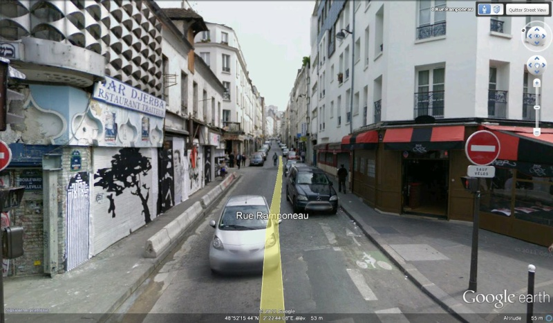 STREET VIEW : bistrots et  bars - Page 2 Rue110