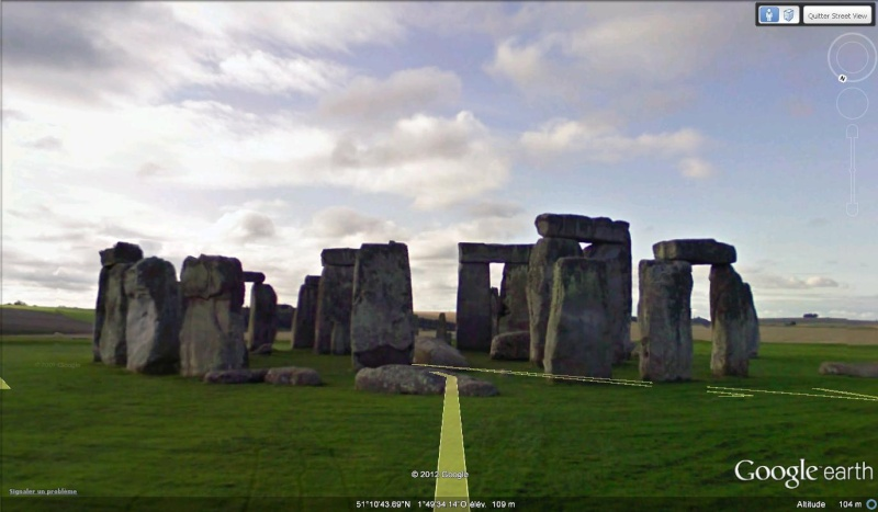 Street View : Menhirs, dolmens et autres mégalithes Stoneh10