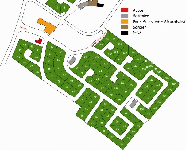 Camping Parc de Bellevue ( Charente Maritime)  Plan_c11