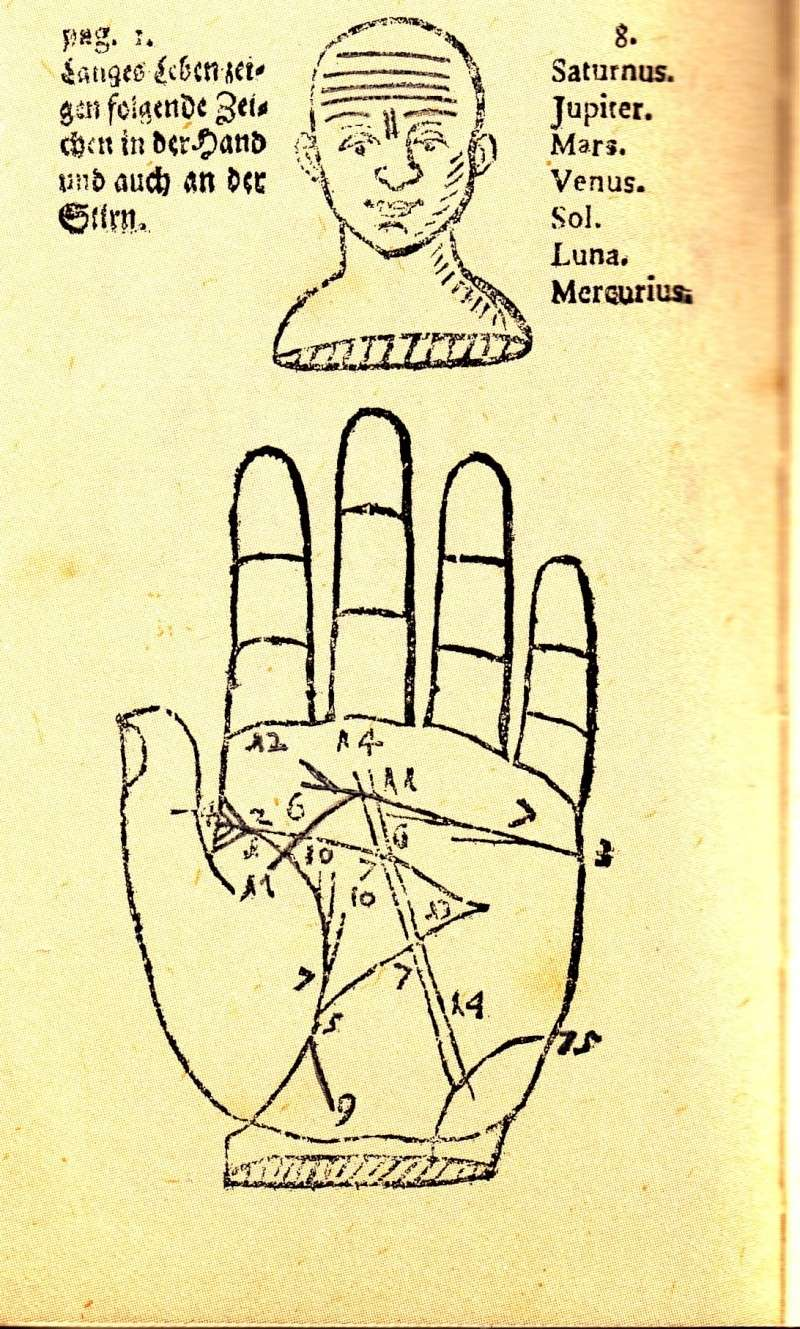 English Translations of Centuries Old German Palmistry Hoepin11