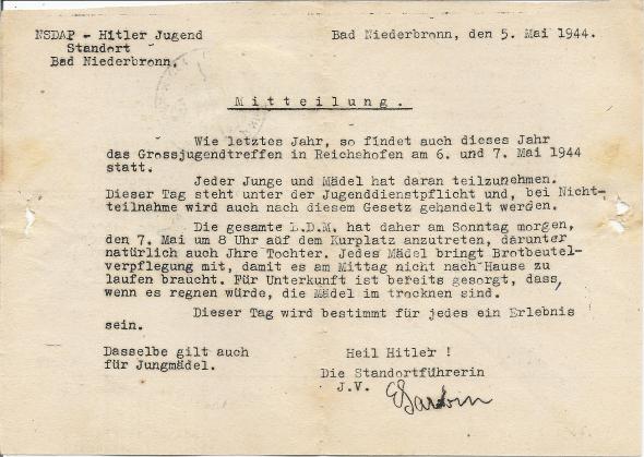 Un message de la Führerin Numar427