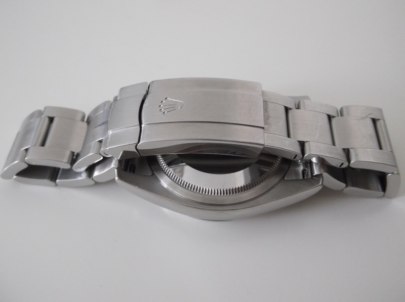 Rolex Oyster Perpetual 116000 cadran bleu  Dscf5142