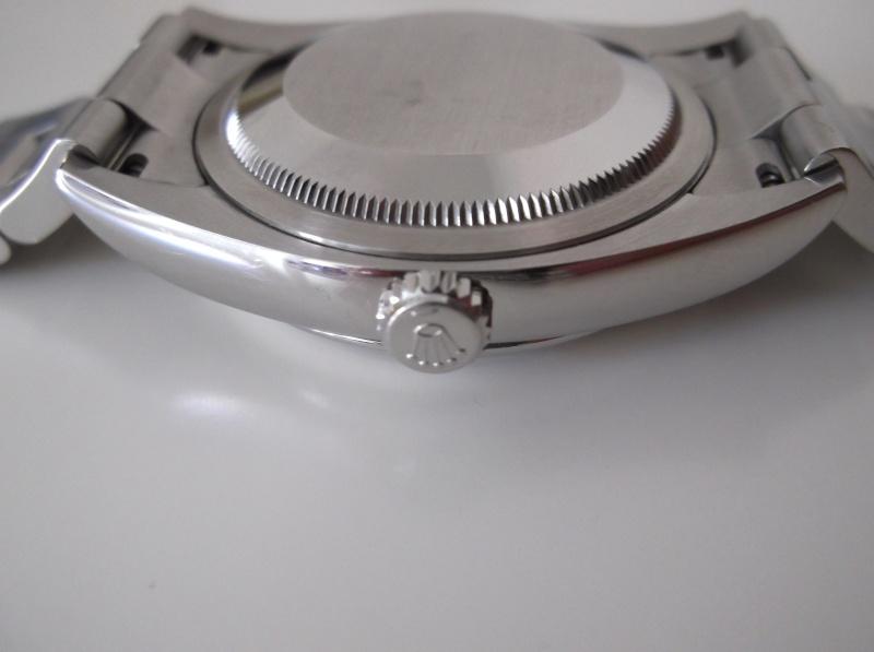 Rolex Oyster Perpetual 116000 cadran bleu  Dscf5151