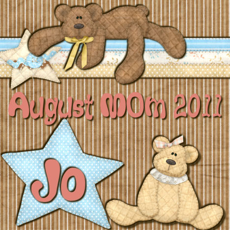 CONGRATULATION JO, AUGUST MEMBER OF THE MONTH Member11