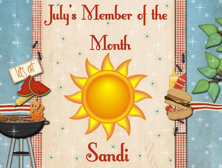 CONGRATULATION - JULY MEMBER OF THE MOM - SANDI Member12