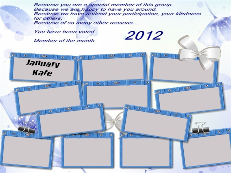 Member of the month Board of honor for 2012 Page_212