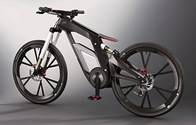 Moi, je veux une Audi.... sinon rien !! E-bike10