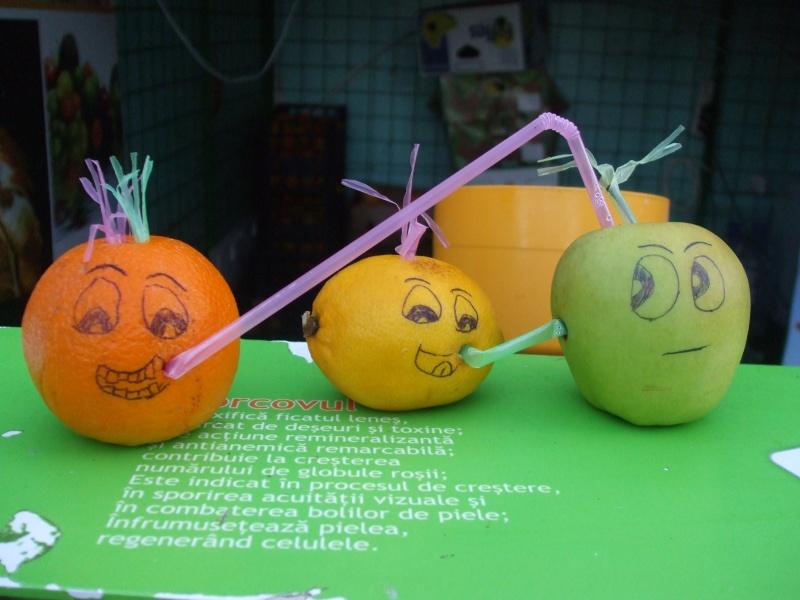 idées pour déco avec fruits & légumes Fruits10