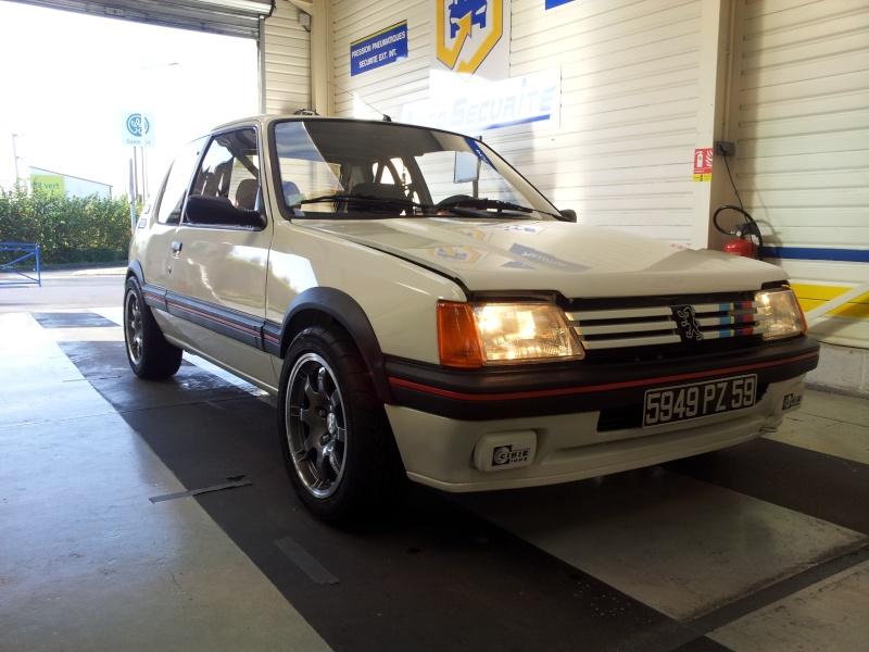 [Gtiste59]205 GTI 1.6L Blanc Meije 1986  20121111