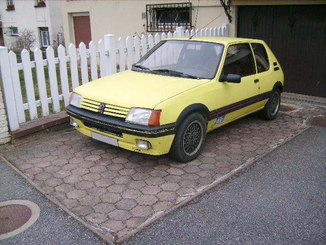 [Gtiste59]205 GTI 1.6L Blanc Meije 1986  2050110