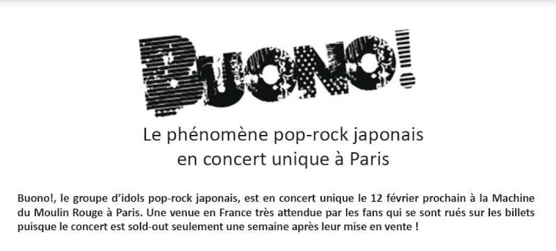 BUONO en concert à Paris le 12 février 2012 B0110
