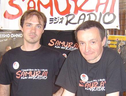 arrêt définitif des activités de Samurai Radio Les210