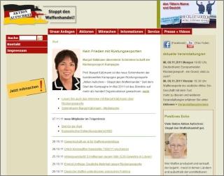 """Aktion Aufschrei"" - gegen den Waffenhandel Aktion10"