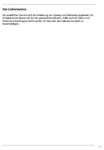 Businessplan-Praxisbeispiel: Vom Imbissbetrieb zur Erlebnisgastronomie Busine46