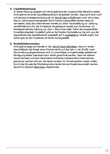 Businessplan-Praxis-Beispiel: Vom Kochevent zum Veranstaltungs-Unternehmen Busine81