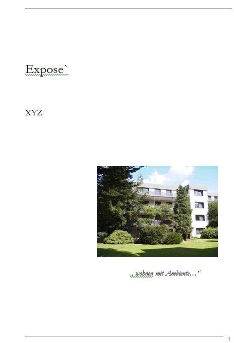 Projekt: Marketing- und Vertriebskonzept für Wohnimmobilien Expose29