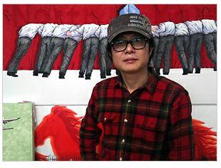 Marylin Monroe lebt: Als Kim Jong II Kim_il10