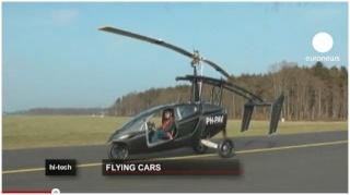 Kombiniere Flugzeug mit einem Auto - fertig ist das Flug-Auto Pal-v_10