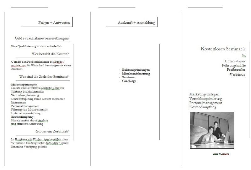 Konzept Seminare zur Neukundengewinnung Semina16