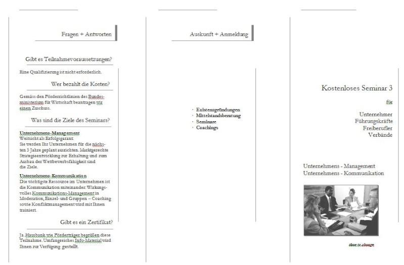 Konzept Seminare zur Neukundengewinnung Semina18
