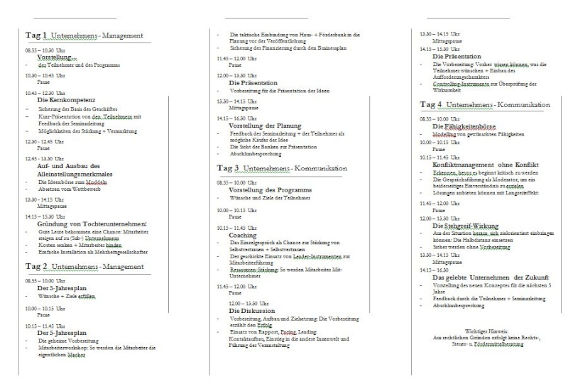 Konzept Seminare zur Neukundengewinnung Semina19