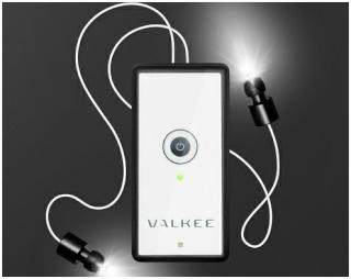 Licht ins Ohr - gegen Depressionen Valkee10