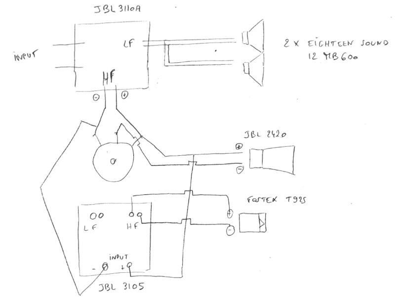 Optimisation enceinte centrale 3 voies Schema10