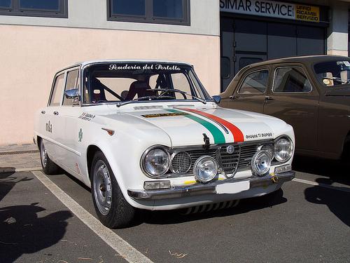 Fulvia 2c ex rally auto in vendita in Germania con targhe Italiane  Alfa-r10