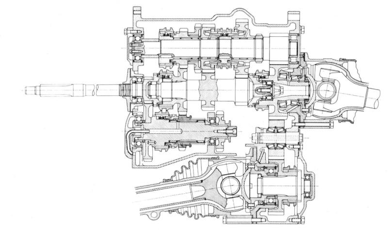 Demontage tube poussé de la boite de vitesse Boitec10