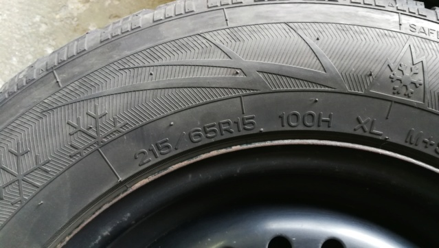 4 roues hiver sur jante acier 215/65R15 100H Img_2022