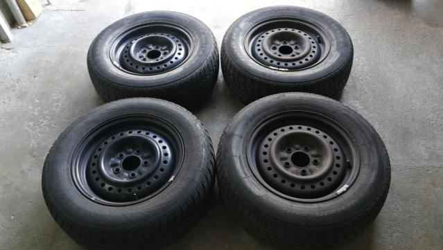 4 roues hiver sur jante acier 215/65R15 100H Img_2024